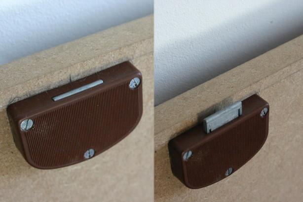 Spoiler: the locks, once screwed in.